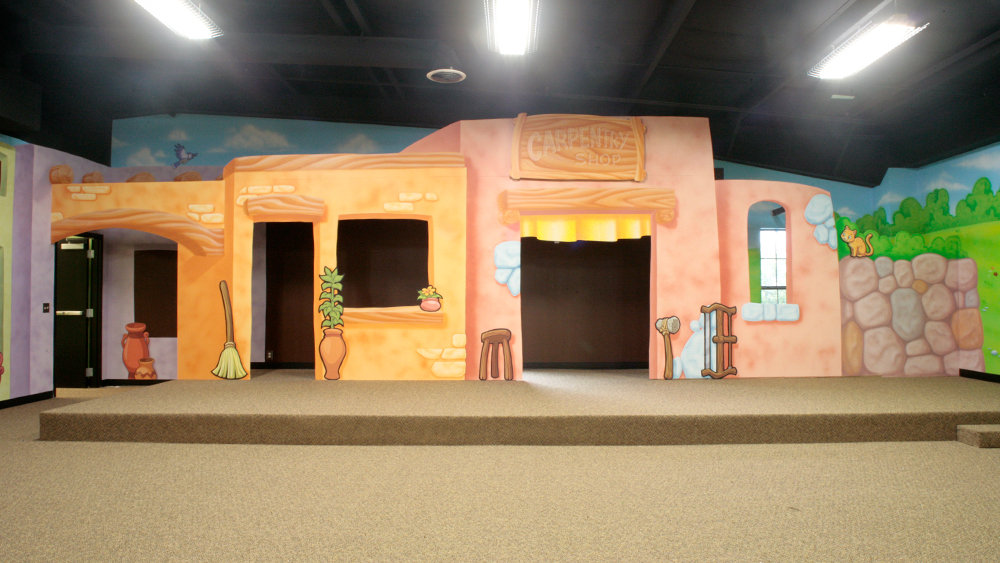 Children's Ministry Bible Town Theme Ideas
