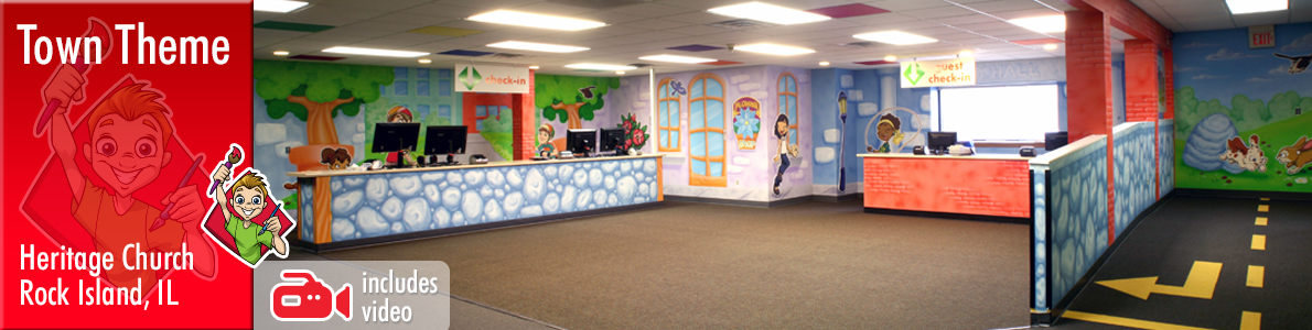 Children's Ministry Theme Decor