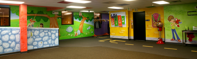 Town Children's Ministry Theme Environment