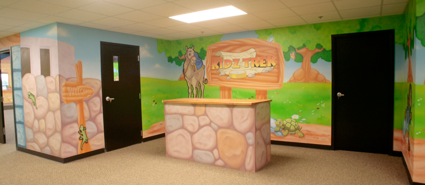 Bible Town Children's Ministry Theme Environment