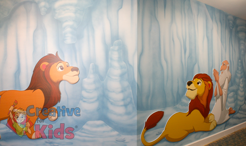 Children's Ministry Theme Mural